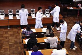 Sensory palatability test in Hokkaido Univ